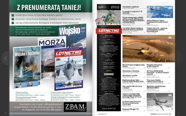 skład magazynu Lotnictwo